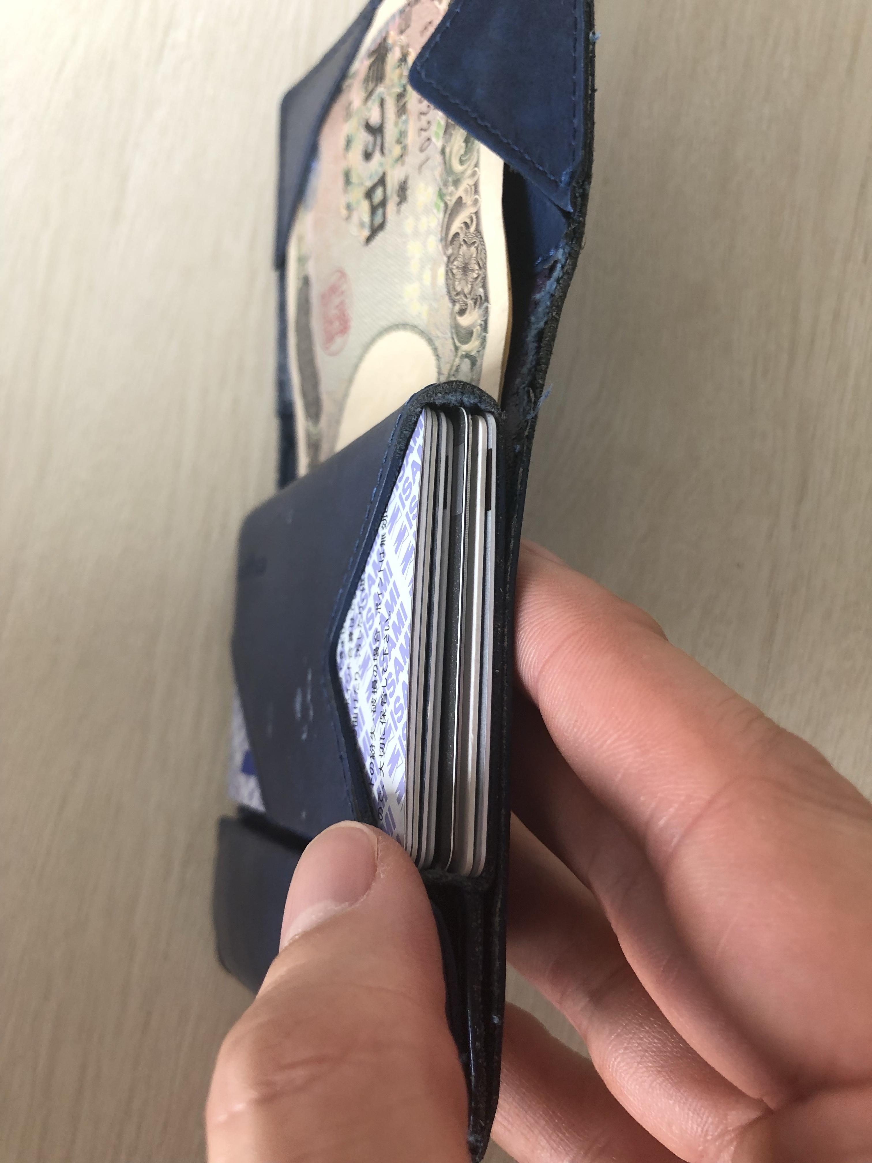 アブラサス薄い財布 ローランド
